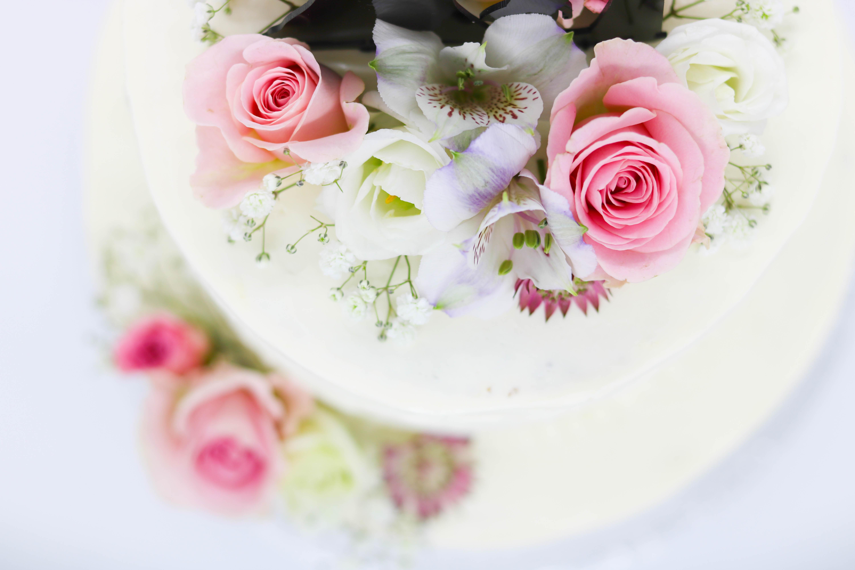 Blumen auf Torten