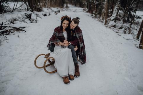 Sweettable Rustical Winterwedding Kuchenwunder