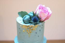 Geburtstagstorte Blattgold