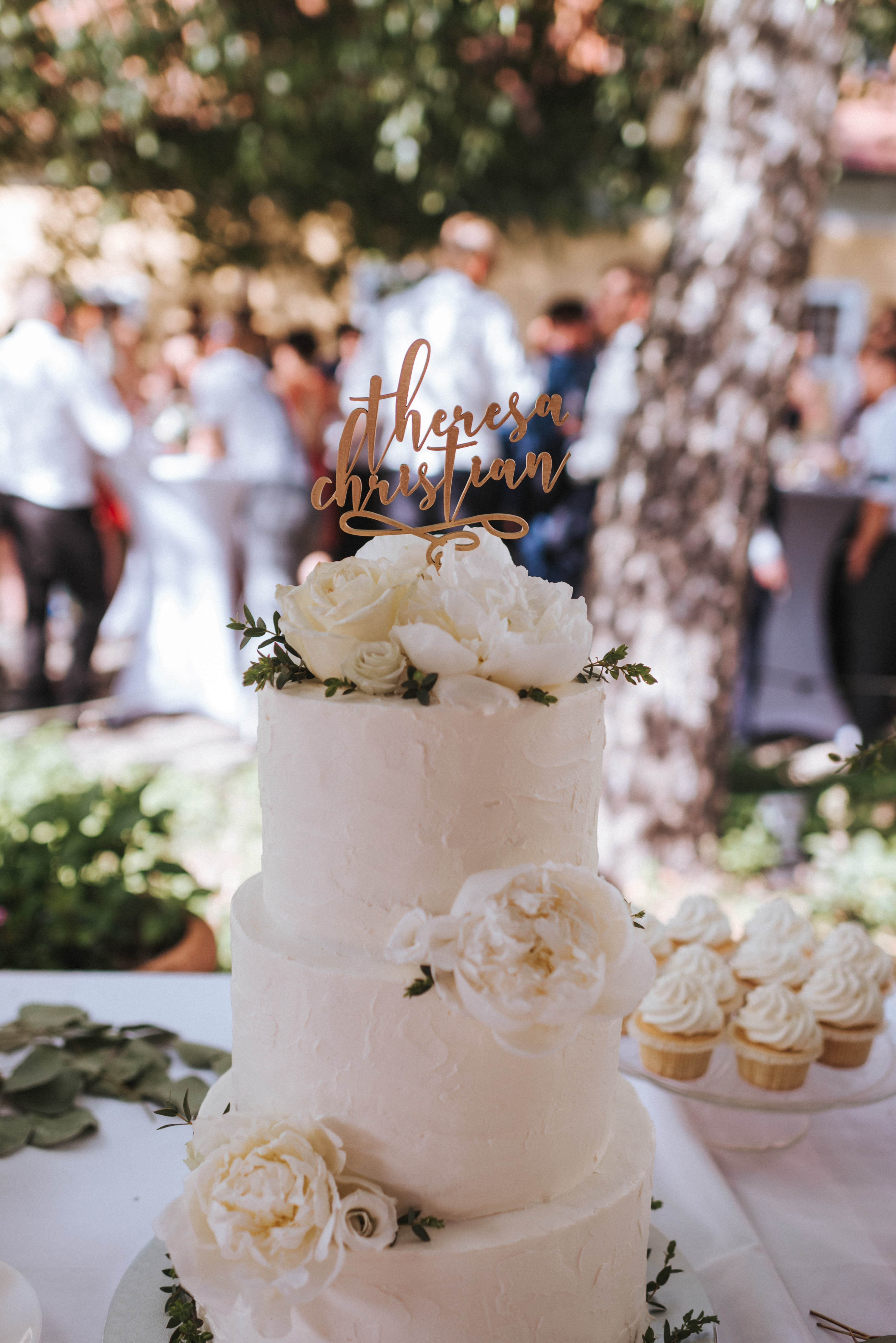 Cremetorte Wedding