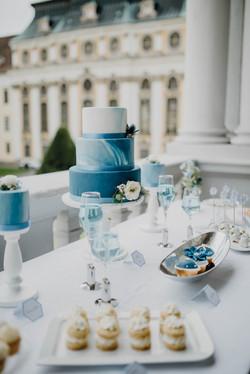 Hochzeitstorte Fondant