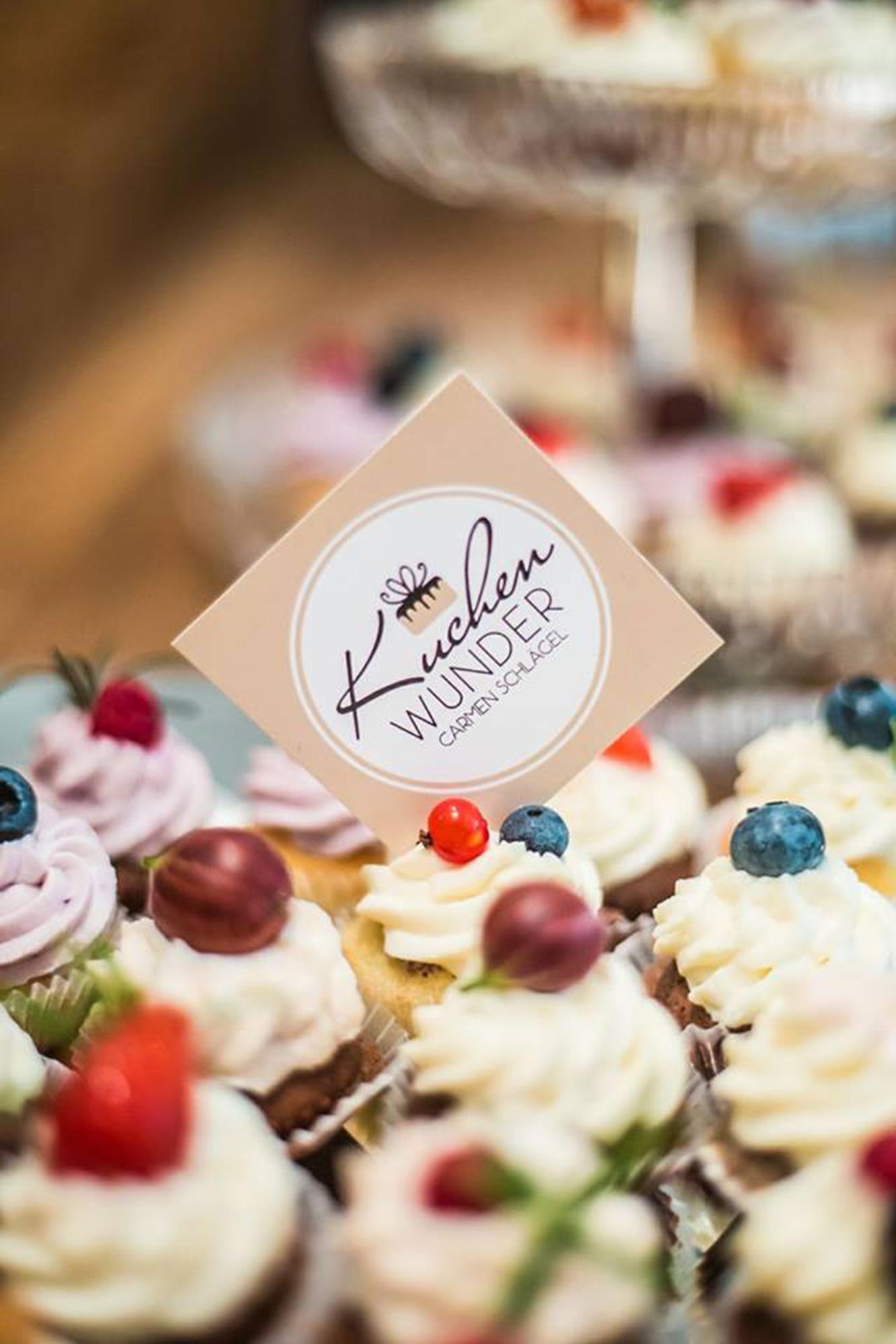 Cupcakes für Firmenfeier