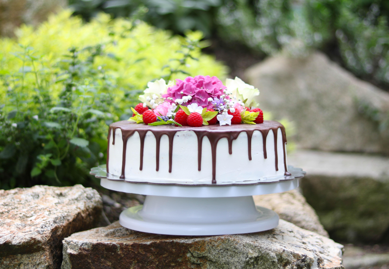 Lava Kuchen mit Schokoglasur