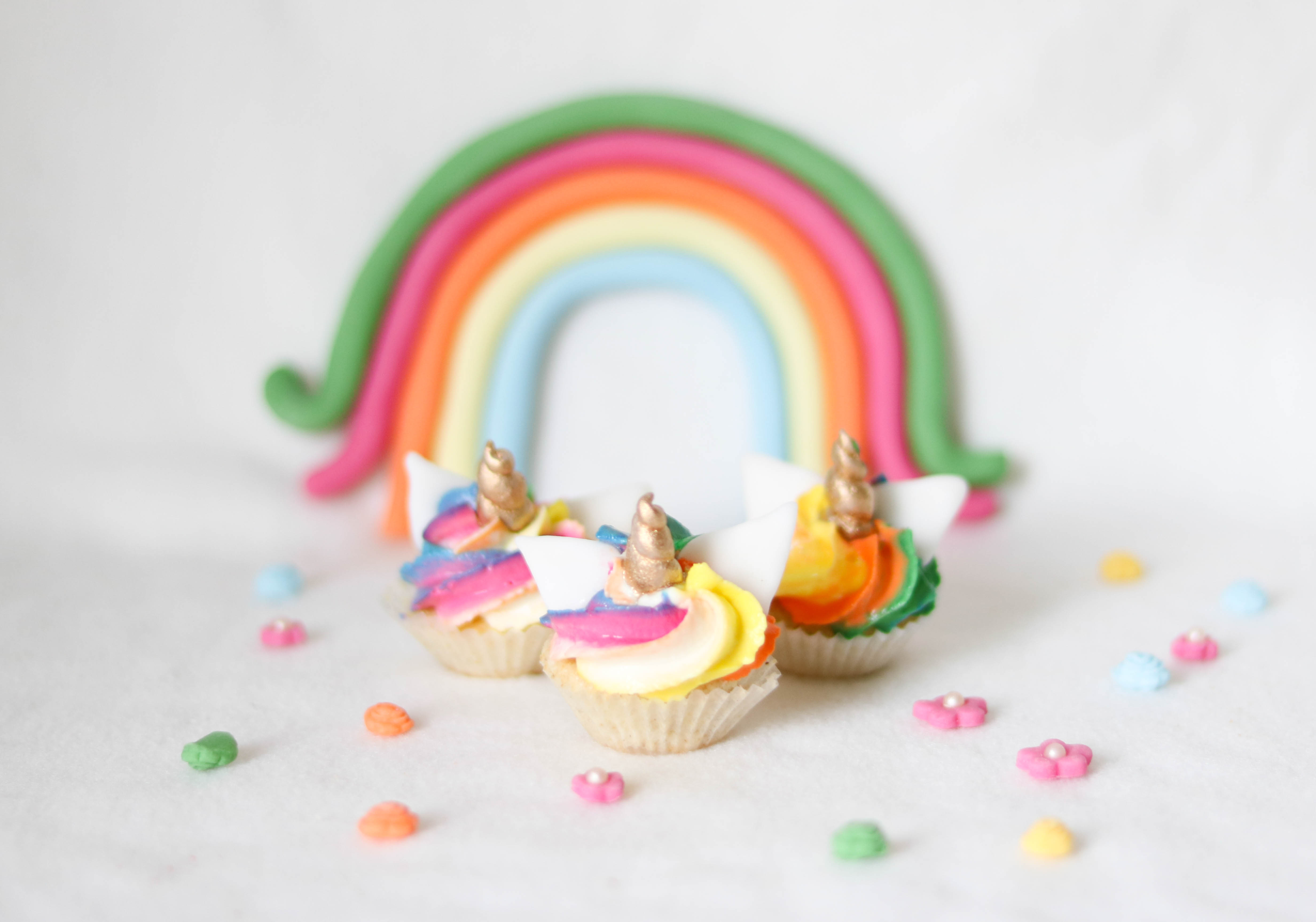 Einhorncupcakes