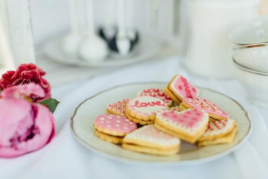 Süßes Teegebäck Kuchenwunder