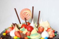 Dripcake mit Baiser