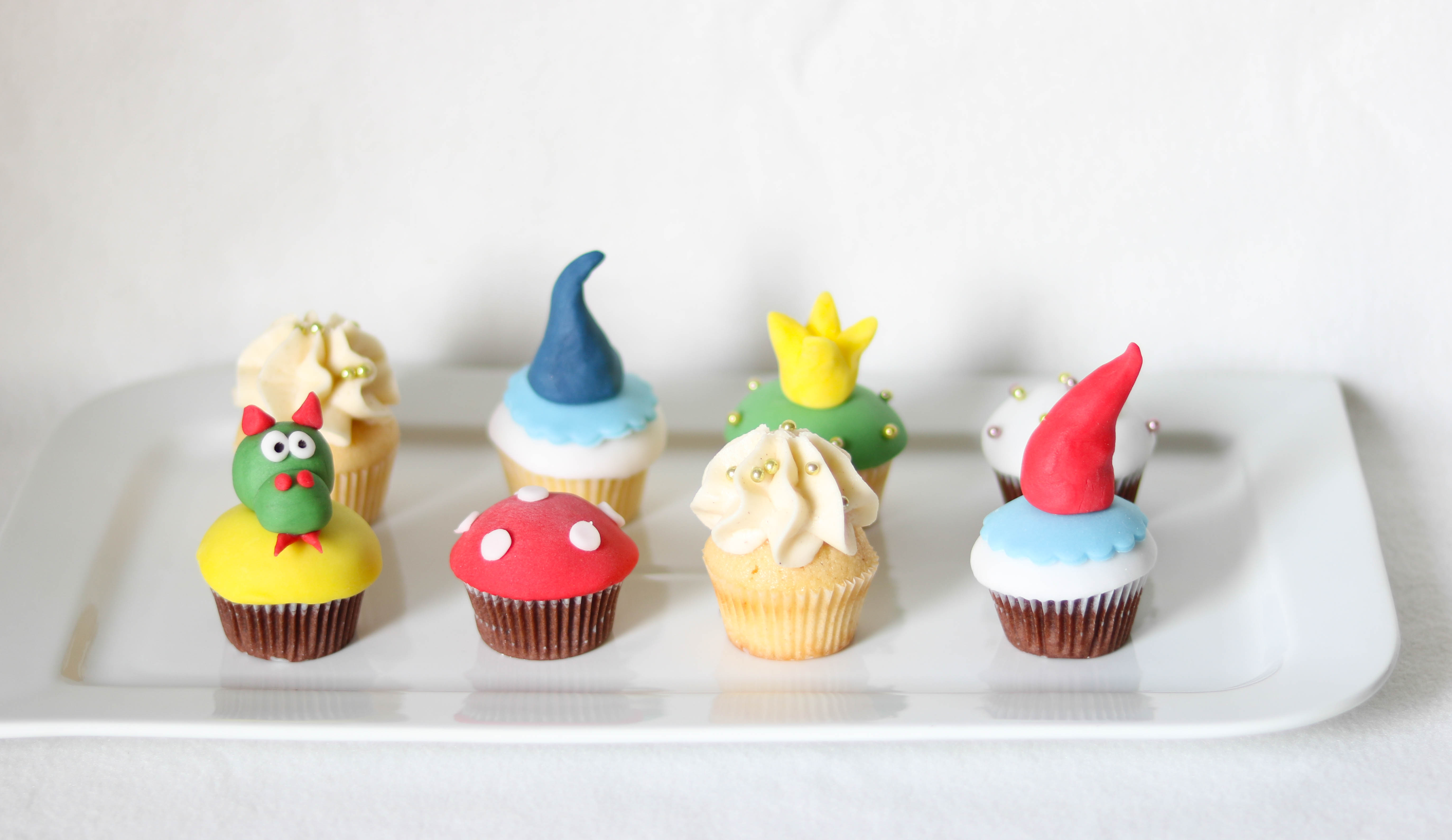 Minicupcakes Kindermotiv