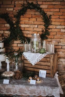 Boho Sweet-Table Kuchenwunder