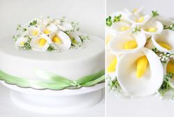 collage callas torte