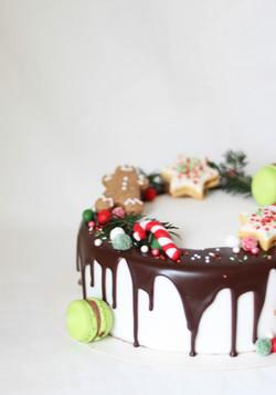 Weihnachtstorte, Dessert Weihnachten