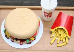 3D-Torte Hamburger
