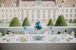Hochzeitstorte Marmor