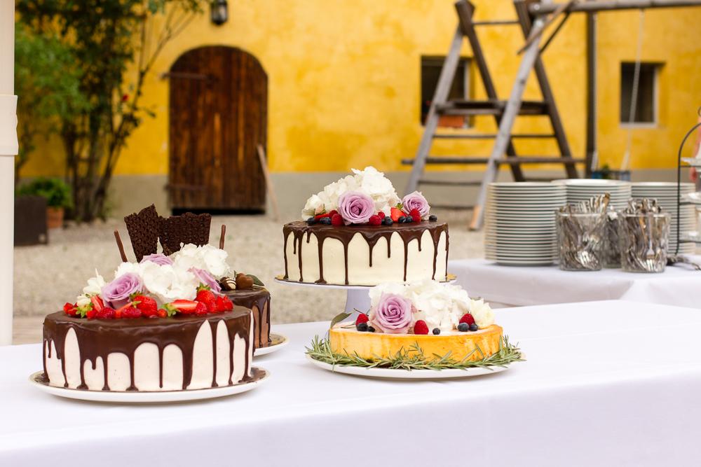 Cheesecake bei Hochzeit