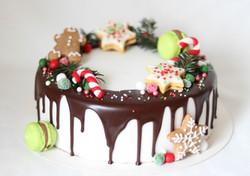Weihnachten Dripcake
