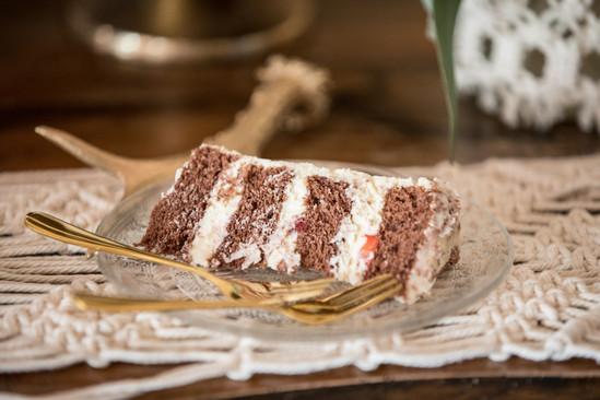 Schoko-Frischkäse-Torte