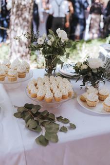 Sweet-Table White Rose - Kuchenwunder