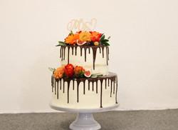 Dripcake Orange/Rot