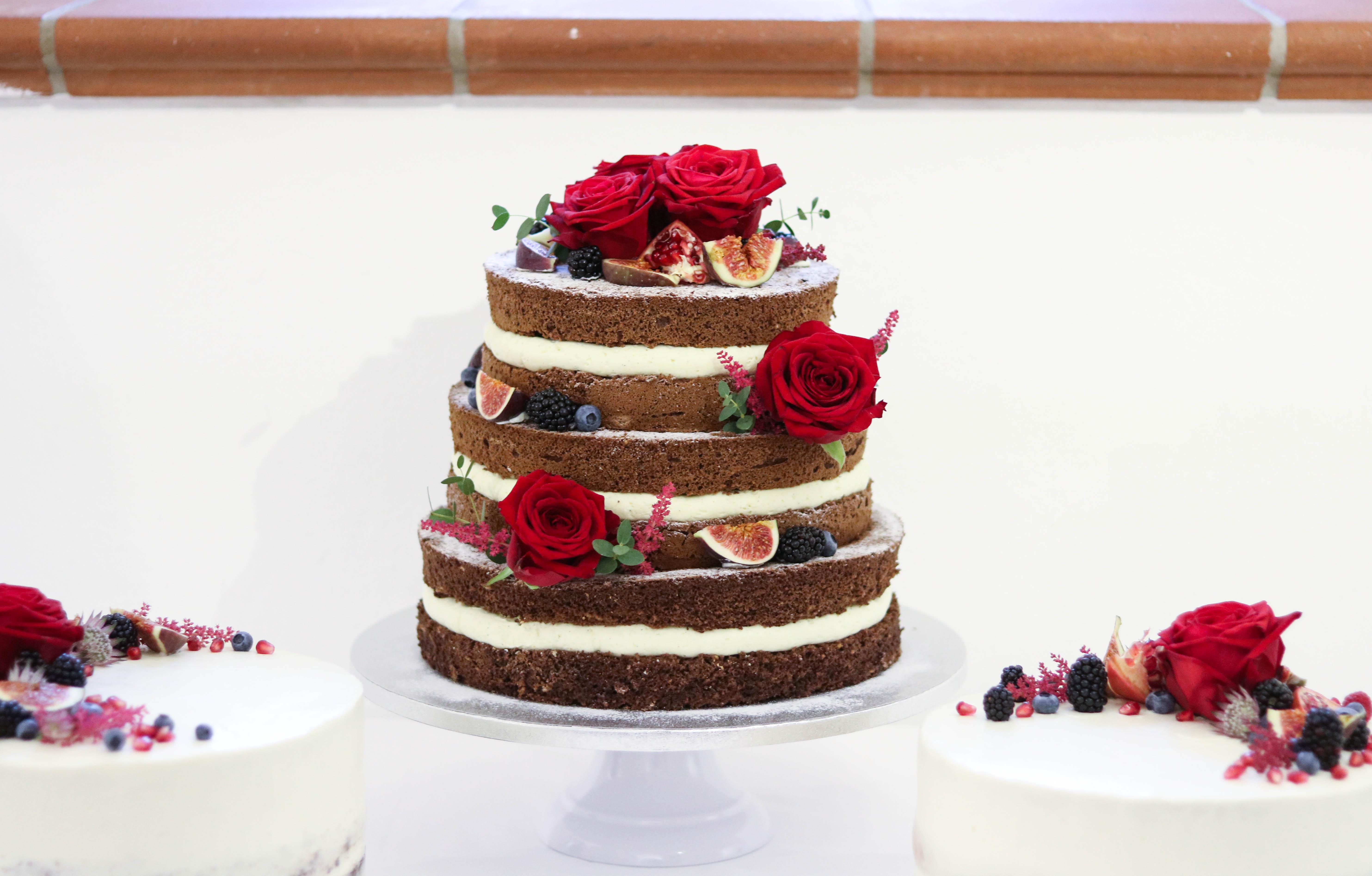 Naked Cake Torte Hochzeit
