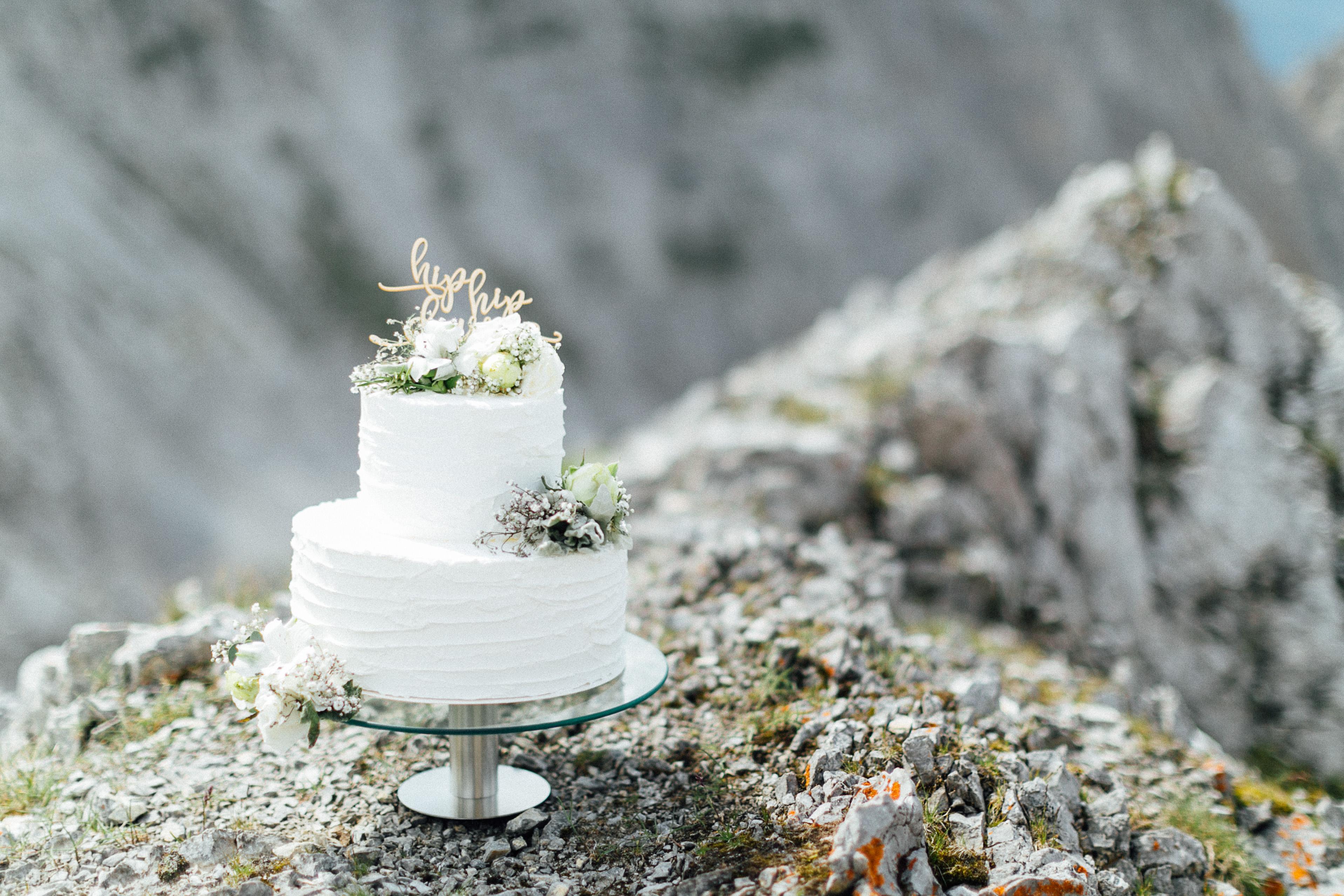 Wedding cake, Cremetorte