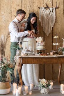 Hochzeitstortenanschnitt, Tortenanschnitt Hochzeit