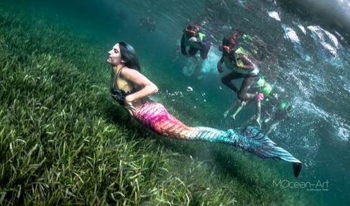 Iron Shore Mermaid Visit May 2021