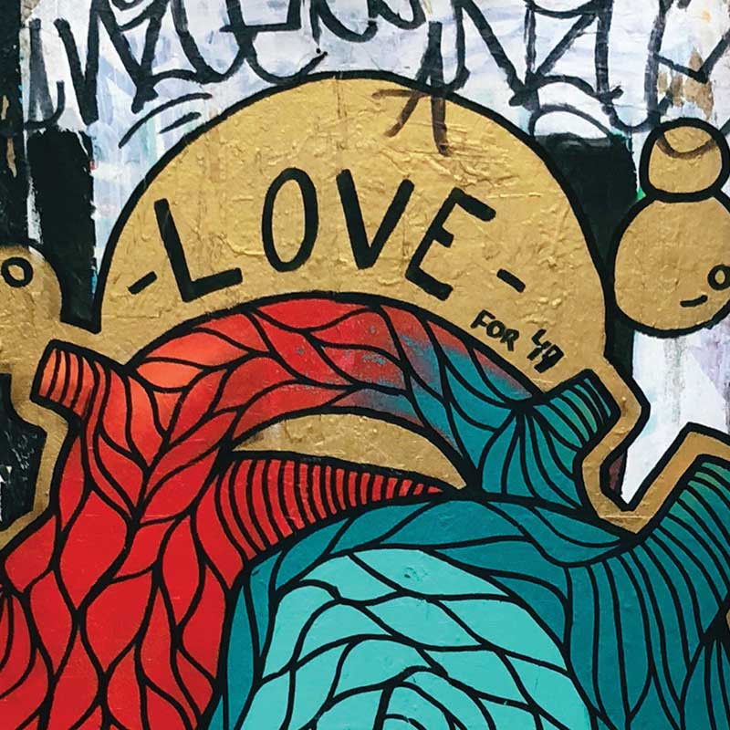 Love Graffiti - Photo source Wix