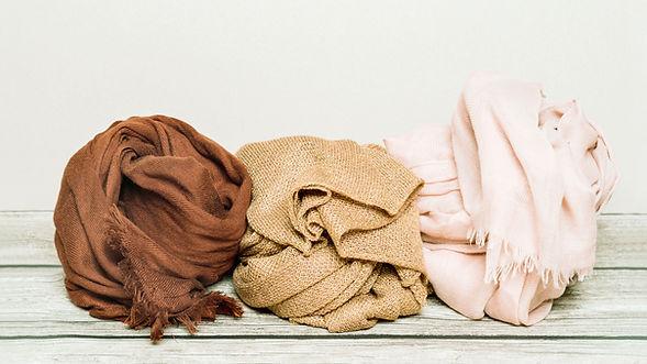 lenços coloridos
