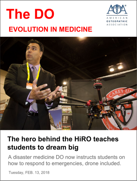 The hero behind the HiRO teaches students to dream big