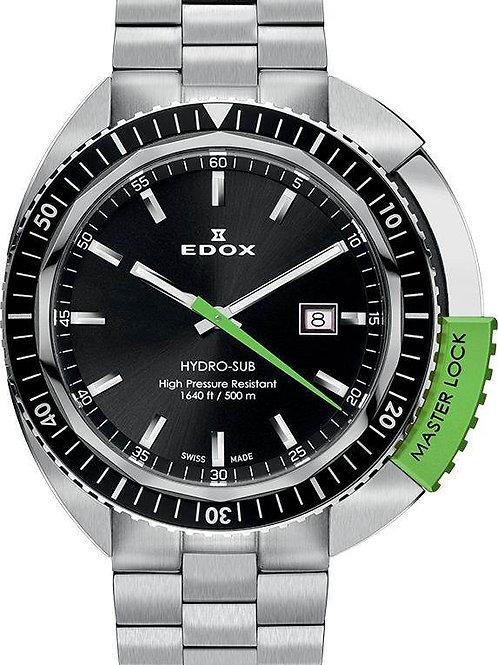 EDOX Hydro-Sub 3-Hands ED532003NVMNIN front view