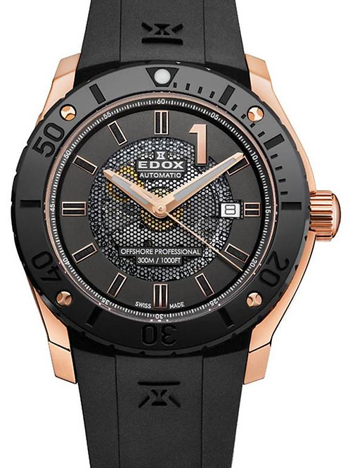 EDOX Chrono-Offshore Automatic Date ED8008837RNIR2 front view