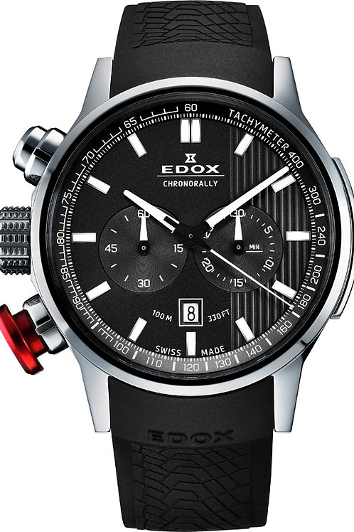 Edox Chronorally Chronograph ED10302-3-GIN watch