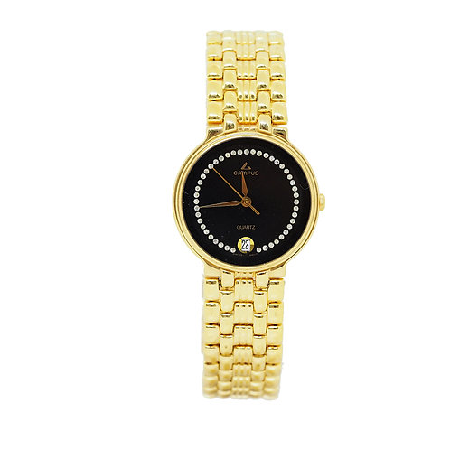 CAMPUS Classic Crystal with date black/black/gold