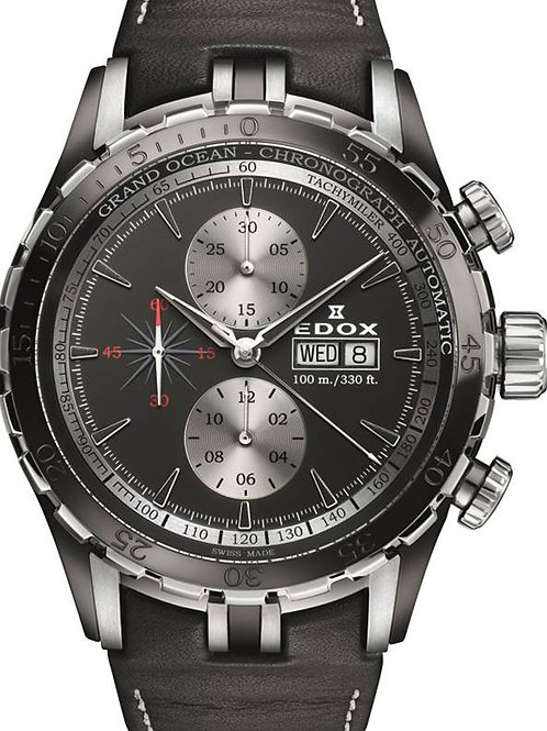 EDOX Grand Ocean Chronograph Automatic ED01121357NNIN front view