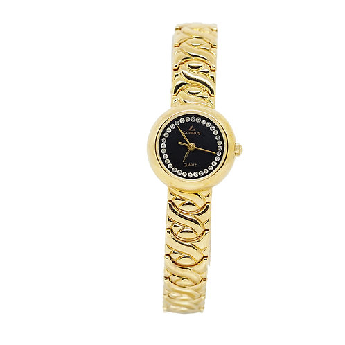 CAMPUS Classic Crystal Black/gold CA5866 front view