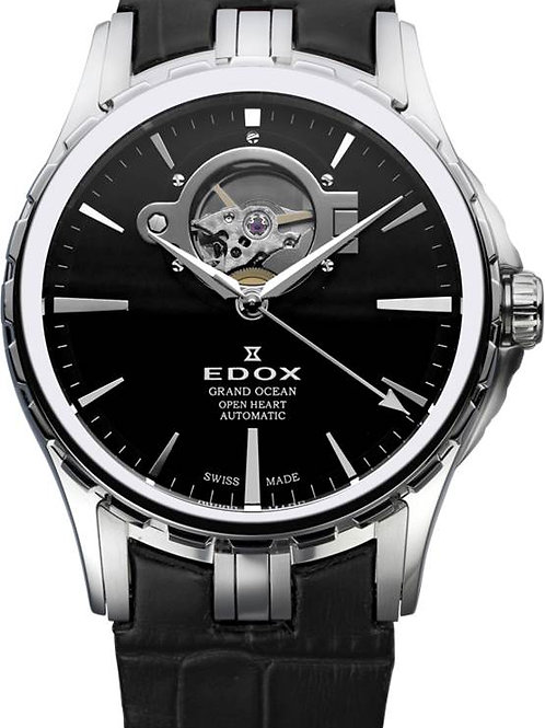 EDOX Grand Ocean Open Heart Automatic ED850083NIN front view
