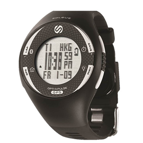 SOLEUS GPS Pulse with Bluetooth SG013004 front view