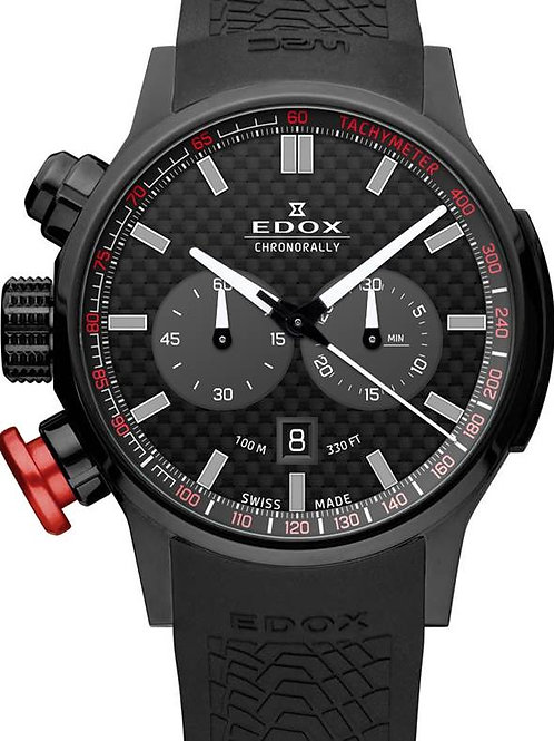 EDOX Chronorally ED1030237NNIN front view