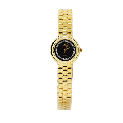 CAMPUS Classic Crystal black/gold CA5837-BS front view