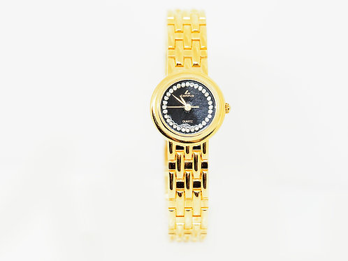 CAMPUS Classic Crystal black/gold CA5836 front view