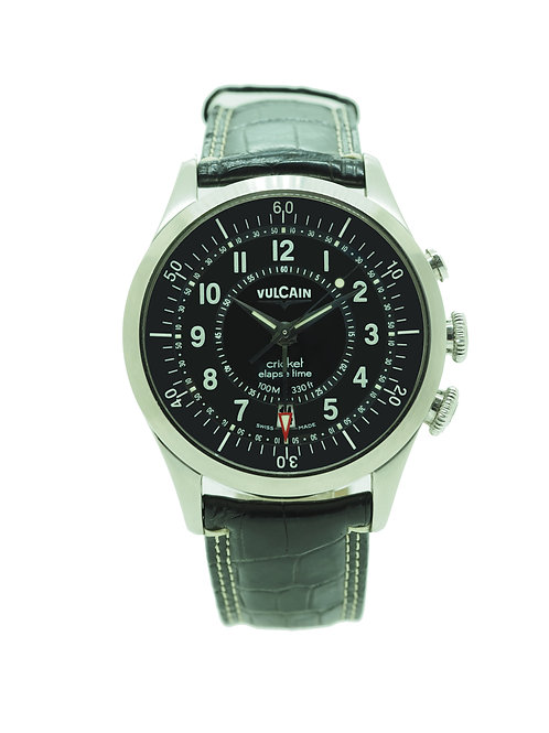 Vulcain Aviator Elapse-Time VU110110.063LF front view