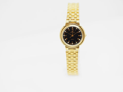 CAMPUS Classic Crystal/roman black/gold CA5760B FRONT VIEW
