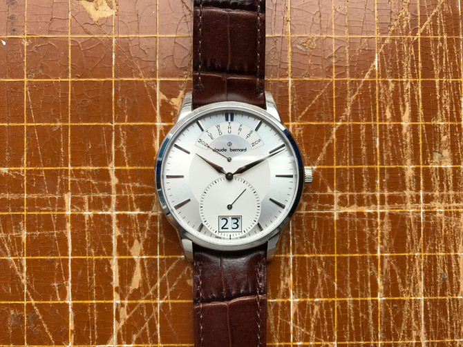 Claude Bernard Retrograde Day-Date