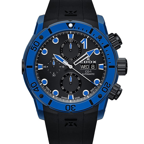 EDOX carbon chronograph