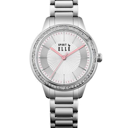 ELLE white sunray dial statinless steel bracelet ES20137B06X