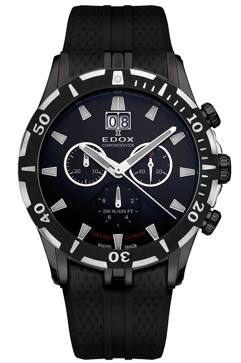 Edox Grand Ocean Chronograph ED10022-37N-NIN front view