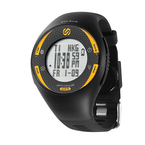 SOLEUS GPS Pulse with Bluetooth SG013020 front view