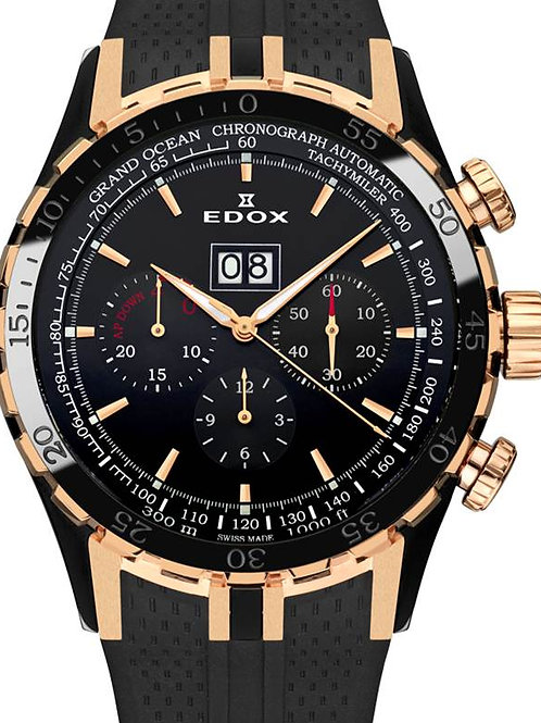 EDOX Grand Ocean Extreme Sailing Series ED45004357RNNIR front view