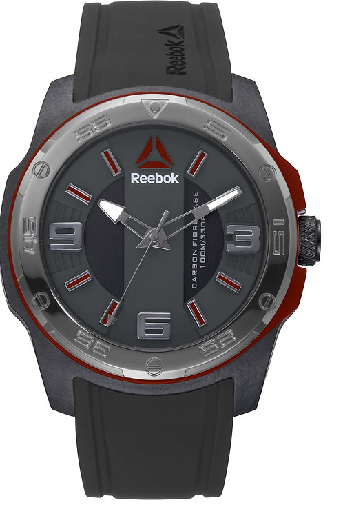 REEBOK Barbell Black/Red - RDBARG2CBIBBR front view