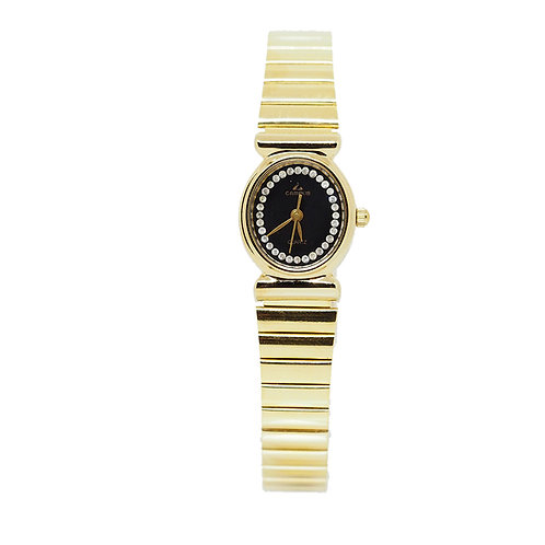 CAMPUS Classic Crystal black/gold CA5745 front view