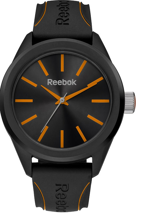REEBOK Spindrop Men Black/Orange - RFSPDG2PBIBBO front view